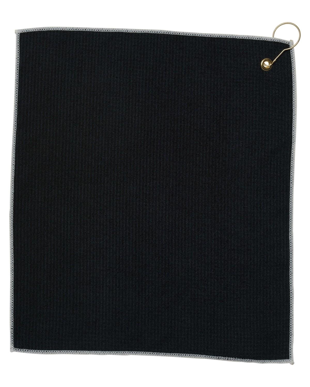 MW18CG Pro Towels BLACK/WHITE