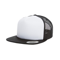 Yupoong 6005FW Foam Trucker with White Front Snapback