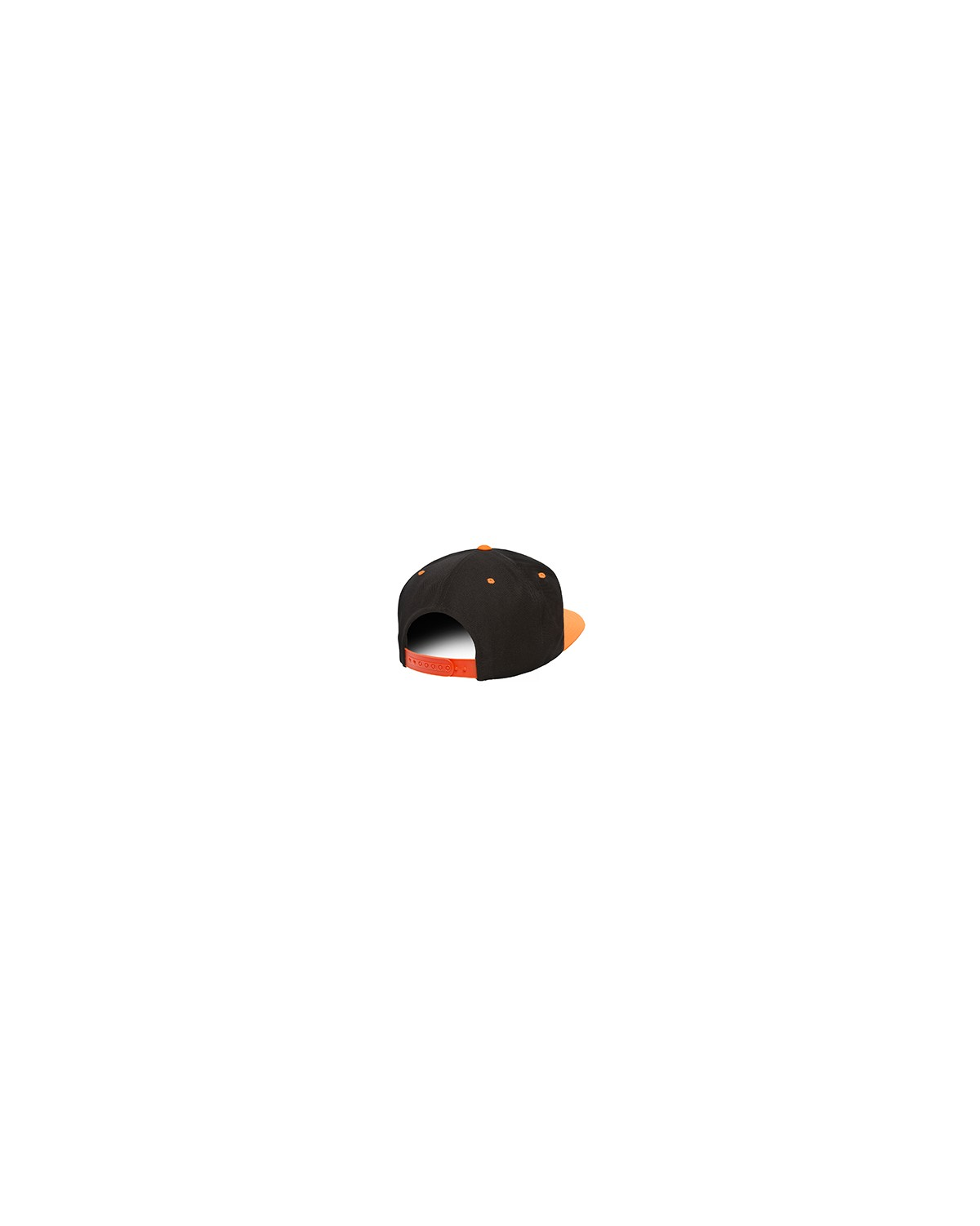 6089 Yupoong BLCK/NEO ORANGE