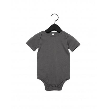 100B Bella + Canvas 100B Infant Jersey Short-Sleeve One-Piece ASPHALT
