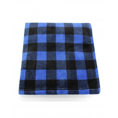 CBN6070 Pro Towels CBN6070 Cabin Throw Kanata Blanket BLU/WHT BFL CHK