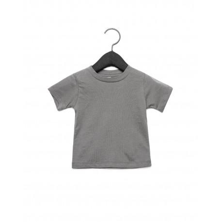 3001B Bella + Canvas 3001B Infant Jersey Short Sleeve T-Shirt ASPHALT