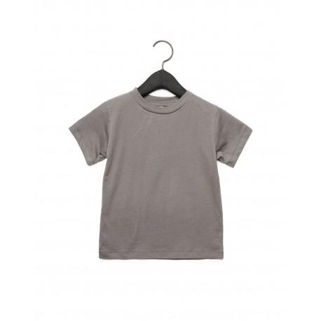 3001T Bella + Canvas 3001T Toddler Jersey Short-Sleeve T-Shirt ASPHALT