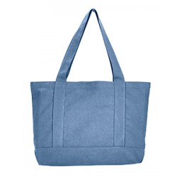 Liberty Bags 8870 Seaside Cotton Canvas 12 oz. Pigment-Dyed Boat Tote