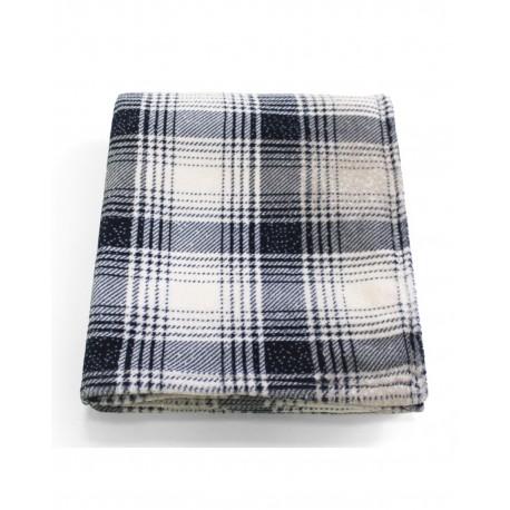 CBN6070 Pro Towels CBN6070 Cabin Throw Kanata Blanket BLUE PLAID