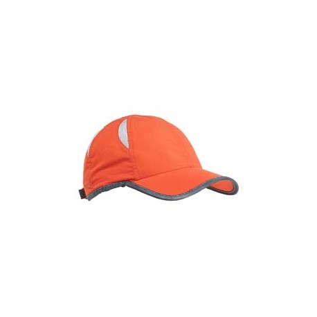 BA514 Big Accessories BA514 Performance Cap BRIGHT ORANGE