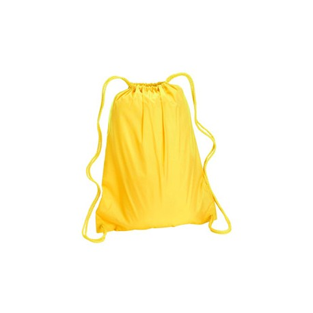 8882 Liberty Bags 8882 Large Drawstring Backpack BRIGHT YELLOW