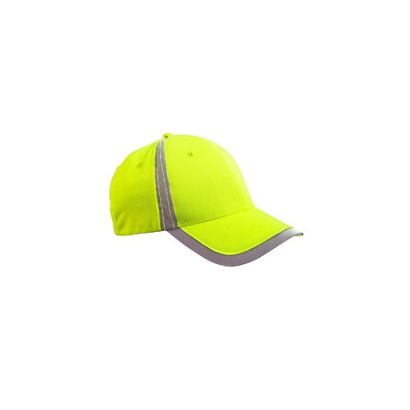 BX023 Big Accessories BX023 Reflective Accent Safety Cap BRIGHT YELLOW