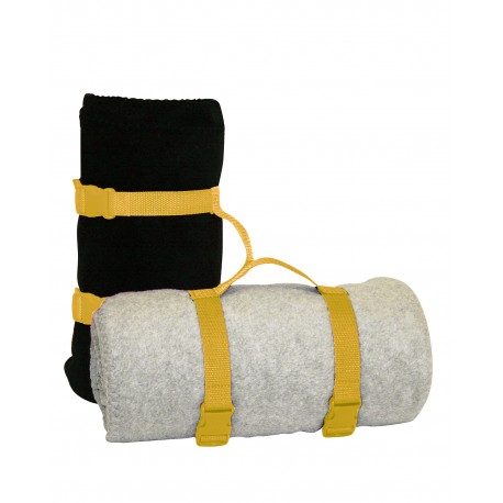 8820 Liberty Bags 8820 Blanket Strap BRIGHT YELLOW