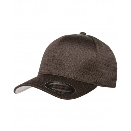 6777 Flexfit 6777 Adult Athletic Mesh Cap BROWN