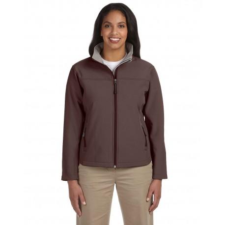 D995W Devon & Jones D995W Ladies' Soft Shell Jacket BROWN
