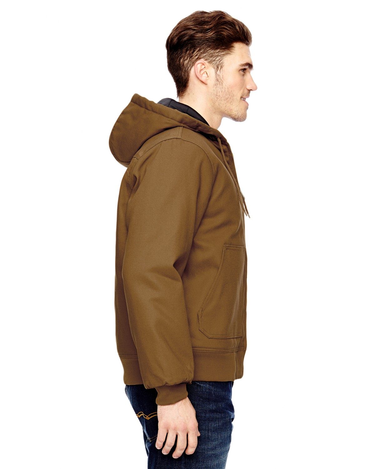 TJ718 Dickies BROWN DUCK