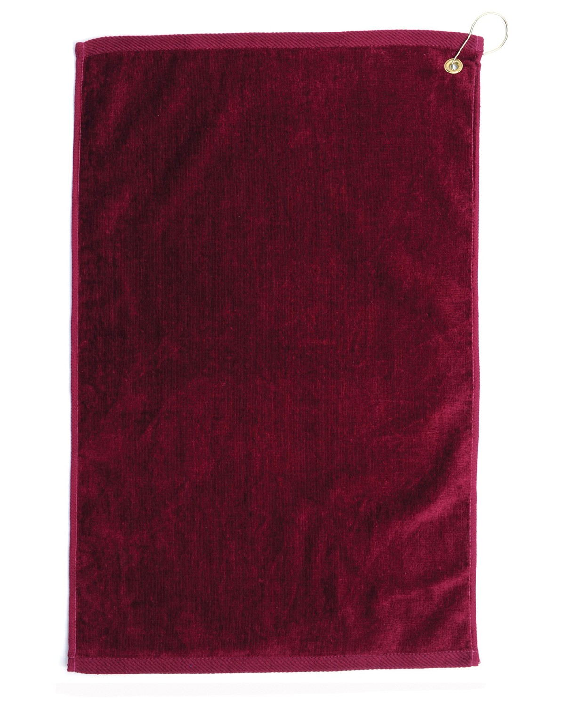 TRU25CG Pro Towels BURGANDY
