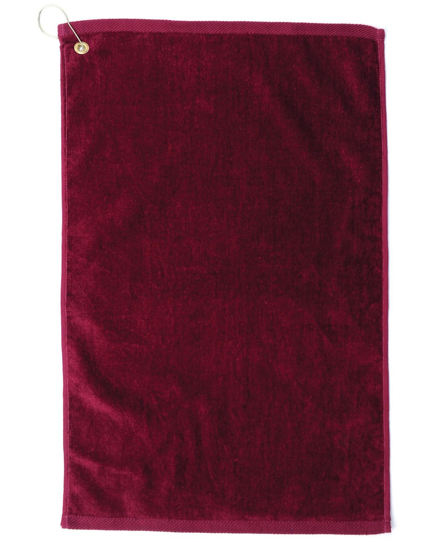 TRU35CG Pro Towels BURGANDY