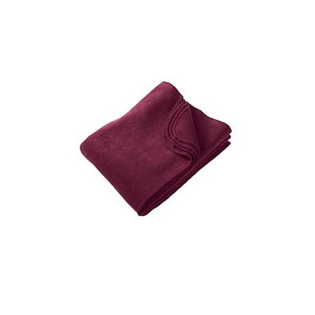 M999 Harriton M999 12.7 oz. Fleece Blanket BURGUNDY