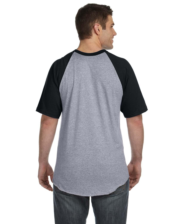 423 Augusta Sportswear ATH HTHR/BLACK