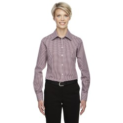 Devon & Jones D640W Ladies' Crown Woven Collection Gingham Check