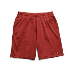 Champion 81622 407Q88 Long Mesh Mens Shorts with Pockets - 81622