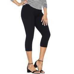 Just My Size 88908 Stretch Cotton Womens Capri Leggings