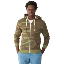 Alternative AA9590 Unisex Rocky Eco-Fleece Zip Hoodie