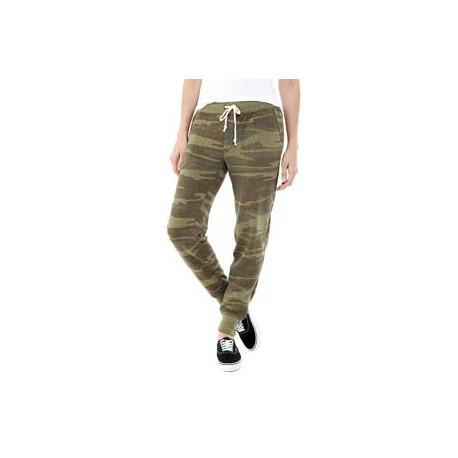31082F Alternative 31082F Ladies' Jogger Eco-Fleece Pant CAMO