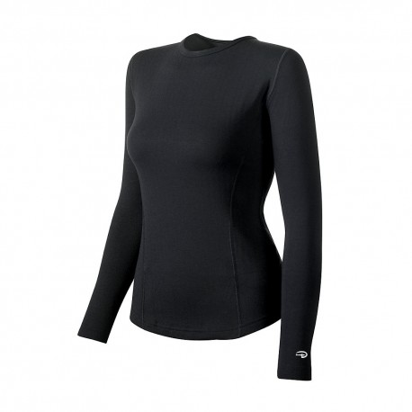KEW3 Duofold KEW3 Varitherm Womens Thermal Long-Sleeve Shirt BLACK