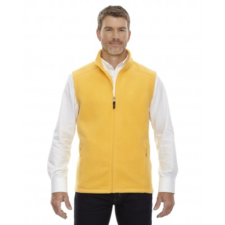 88191 Core 365 88191 Men's Journey Fleece Vest CAMPUS GOLD 444