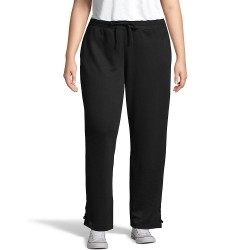 Just My Size OJ934 French Terry Lace Up Pant