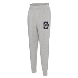 Champion P1233 549808 Mens Heritage Fleece Jogger Letterman Leg