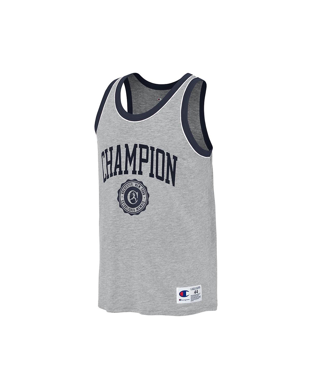 T39473 549802 Champion Oxford Grey/Imperial Indigo/White