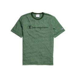 Champion T4508G 549914 Mens Heritage Heather Tee Script Logo