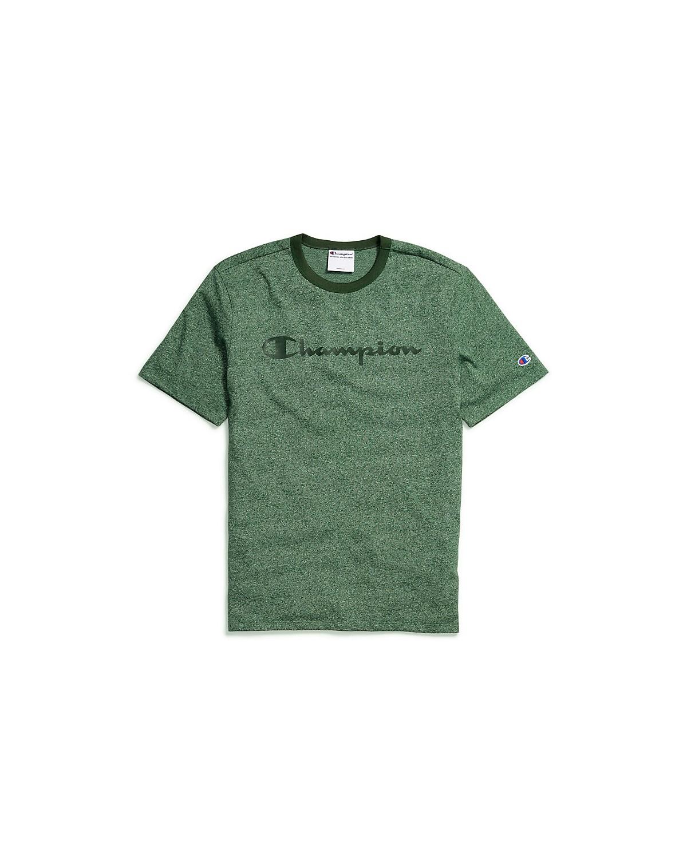 T4508G 549914 Champion Dark Green Heather/Dark Green