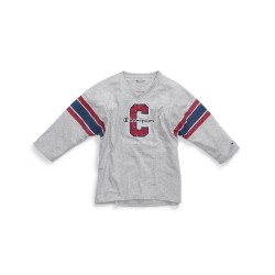 Champion W3133G 549795 Women Heritage Football Tee-Full Block C