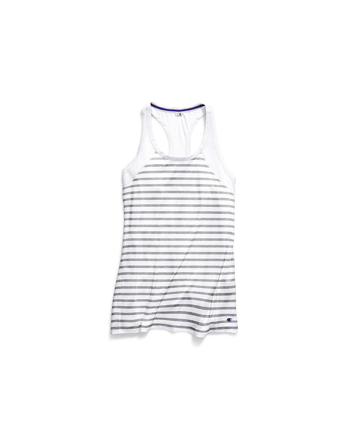 W9283 Champion White/Oxford Grey Heather Stripe