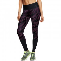 Champion M0940P Womens 6.2 Printed Run Tights With SmoothTec Band