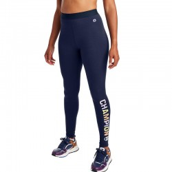 Champion M5073G 550755 Authentic Leggings, Pop Color Logo