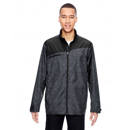 88805 North End 88805 Men's Sprint Interactive Printed Lightweight Jacket CARBON 456