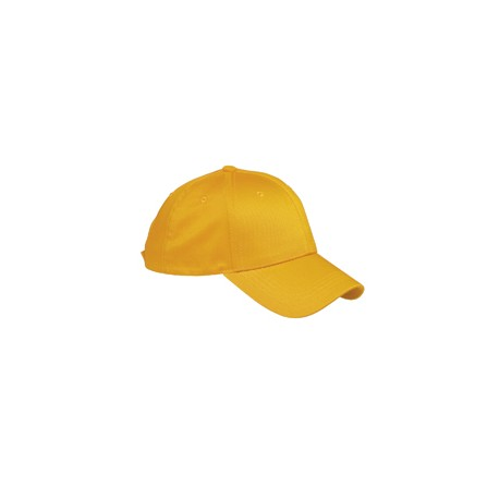 BX020 Big Accessories BX020 6-Panel Structured Twill Cap ATHLETIC GOLD