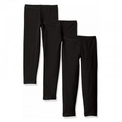 Hanes OK4113 Girls Legging 3-Pack