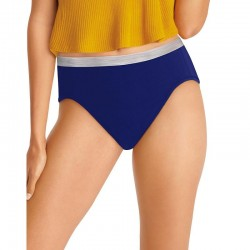 Hanes PP43SC Cool Comfort Womens Cotton Sporty Bikini 6-Pack