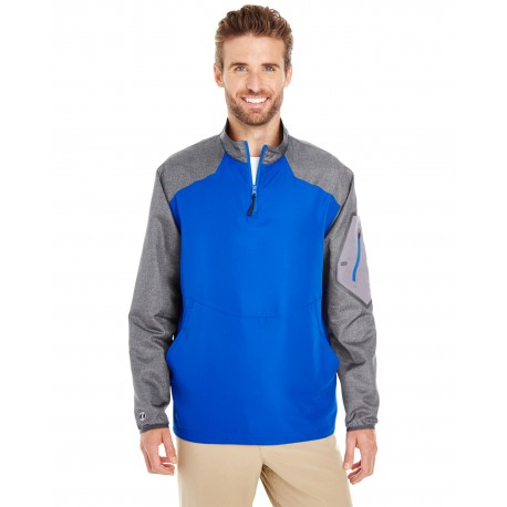 229155 Holloway 229155 Men's Raider Pullover CARBON PRT/ROYL