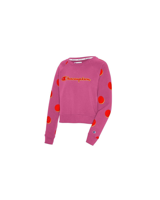 W5670 550765 Champion Dropshadow Dot/Peony Parade Pink