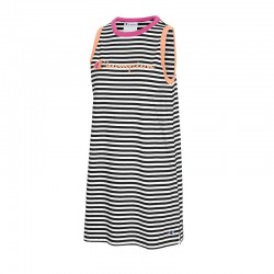 Champion W5680 550757 Campus Stripe Tank Dress