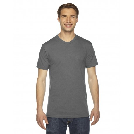 TR401 American Apparel TR401 Unisex Triblend USA Made Short-Sleeve Track T-Shirt ATHLETIC GREY