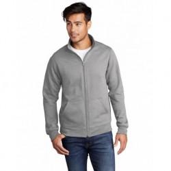 Port & Company PC78FZ Core Fleece Cadet Full-Zip Sweatshirt