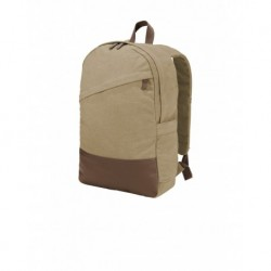 Port Authority BG210 Cotton Canvas Backpack
