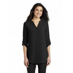 Port Authority LW701 Ladies 3/4-Sleeve Tunic Blouse