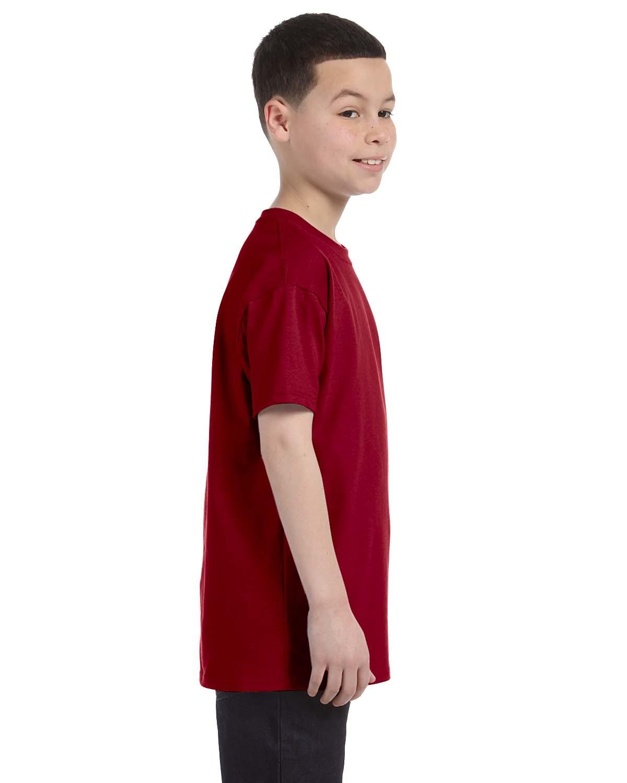 G500B Gildan CARDINAL RED
