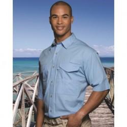 Hilton ZP2287 Fishermen Short Sleeve Shirt