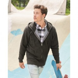 Independent Trading Co. IND4000Z Heavyweight Full-Zip Hooded Sweatshirt